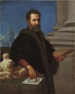 Ritratto Di Michelangelo Lodovico Buonarroti Simoni Was A Famous Painter