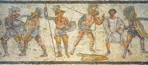 mosaic gladiators