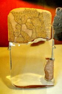 The Egyptian-Hittite peace treaty