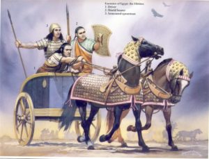 A typical Hittite chariot
