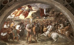Raphael's The Meeting between Leo the Great and Attila