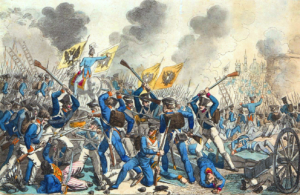Russian attack on Warsaw in 1831