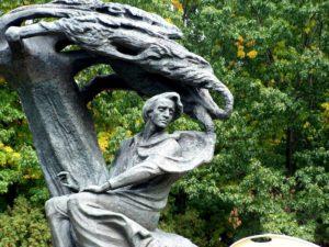 monument Chopin Warsaw