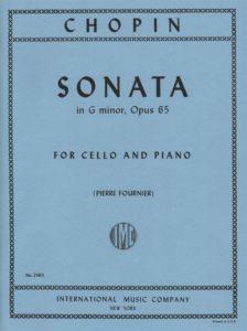 Sonata in G minor, Opus 65 sheet music