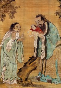 Confucius, Buddha and Lao-Tzu