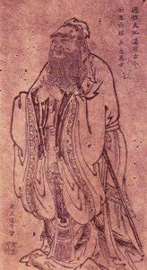 Confucius by Wu Daozi