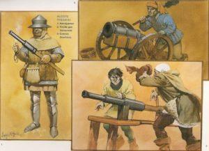 Hussite firearms