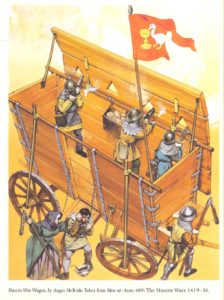 A Hussite war wagon