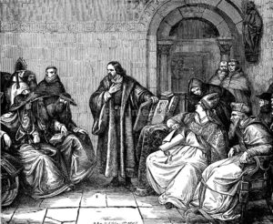 Jan Hus before the Council of Constance